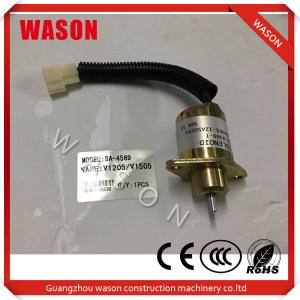 China Stop Solenoid SA-5176-12 756ES-12SUC5B1S5 for Kubota D722 Engine on sale
