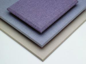 China Fabric Covered Acoustic Wall Panels Sound Proofing and Fireproof Materials on sale