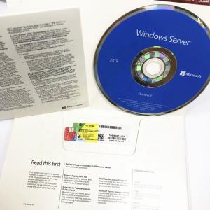 China 64 Bit Microsoft Windows Server 2019 Standard DVD OEM Pack on sale