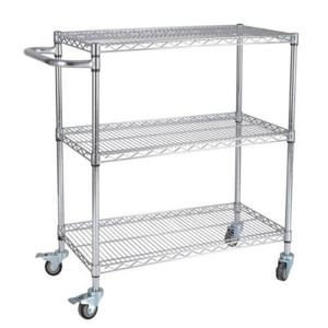 China SMT ESD shelving cart SMT reel storage Cart Trolley for sale Industrial USE 1 buyer on sale