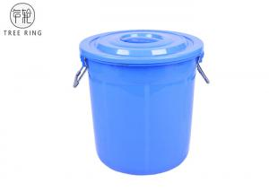 China Stackable Round  Small Garbage Pail With Lid  B50L Heavy Duty Food Grade on sale