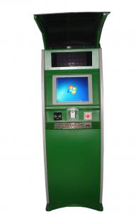 China Card Payment Outdoor Touch Screen Kiosk , Free Standing Foreign Currency Exchange on sale