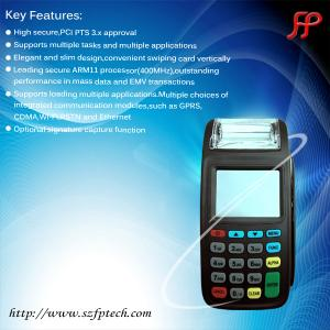 China New8210 RFID smart card reader handheld gprs pos terminal linux gas station pos system supplier