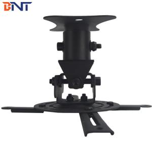 China Black Drop Down Projector Ceiling Mount With Short Plate Extension Size 13CM on sale