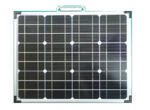 China 120 Watt Foldable Solar Panel Solar Cell With Heavy Duty Padded Easy Carry Bag on sale