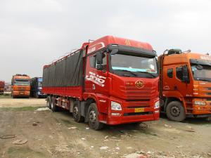China CA6DM2 Engine FAW JH6 8X4 460HP Cargo Truck on sale
