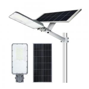 China Led Chip Ip66 Stand Alone Split 6500k Solar Panel Street Lamp on sale