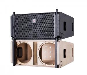 China Huiyin10 inch 2 way empty box full range speaker cabinet VERA20 line array speaker box on sale