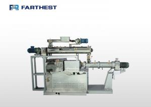 China Floating Fish Feed Extruder Machine Twin Screw Anti Wear Alloy Long Service Life on sale