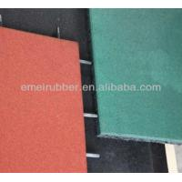China play sports rubber floor tiles paver for sale on sale