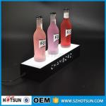 factory direct sale clear display holder stand, laser cutting thick acrylic customized led base