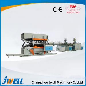 China Jwell UPVC/PVC-C Solid Wall Pipe Small Plastic Extruder on sale