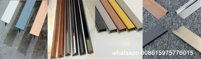 Brushed Finish Stainless Steel Sheet Trim Decorative Strip For Tile Divider And Wall Backdrop Stainless Plate Com