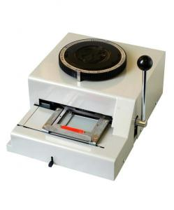 China CNJ-6000 Russian+English embosser on sale