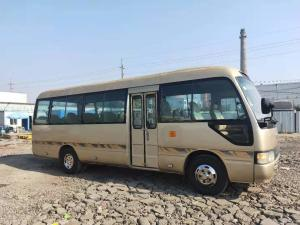 China Japan brand medium-sized Coaster used Toyot Coaster coach bus second hand city bus for diesel petrol engine for sale on sale