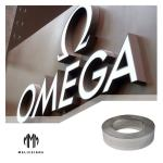 90m 0.55mm Thickness SS304 Illuminated Channel Letters