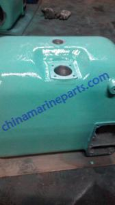 China YANMAR S165L-HN Diesel parts Fresh water cooler(with cap) 752623-44300 for sale on sale