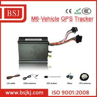 China M6 vehicle gps tracker vehicle tracking device with IOS App on sale