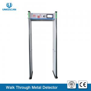 China 6 Zones Walk Through Security Body Scanner Door Frame Archway Metal Detector Gate With High Resolution CCTV Camera / DVR on sale