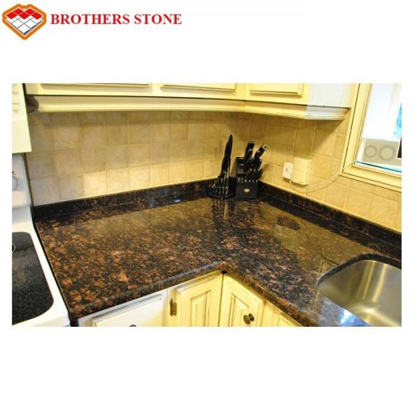 Tan Brown Granite Stone Tiles 17mm 200mm Thickness For Kitchen Countertop For Sale Granite Stone Tiles Manufacturer From China 109779095