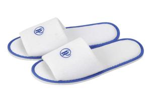 China cotton fleece hotel slipper on sale