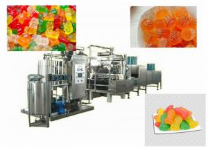 China Jelly Soft Candy Depositing Making Machine For Food / Beverage Factory on sale