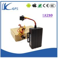China Mini Vehicle Waterproof Remotely Cut Off Engine Gps Vehicle Tracking Equipment LK210 on sale