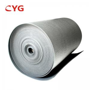 China Heat Absorbing Sheets Fire-retardant Pipe Insulation Rubber HVAC Insulation Foam on sale