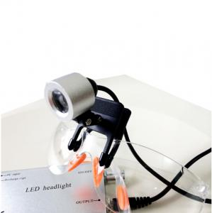 China 3W LED Clip Type Dental Surgical Medical Head Light Lamp Headlight for Medical Loupes on sale