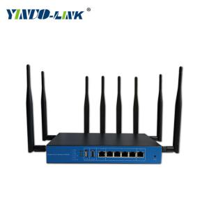 China Yinuo-link high power industrial LTE 4G modem wifi router with sim card slot and 1200M on sale