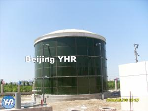 China 500 KN / Mm Glass Coated Steel Tanks , Water Storage 50000 Gallon Tank on sale