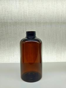 China Oil & Fat Resistance PET Cosmetic Bottles / Amber Pet Bottles Free Samples For Stock on sale