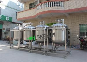China Customer 50000 Liter Bag Filter Housing Stainless Steel 304/316  Hot Water Storage Tank on sale