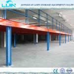 Long Span Industrial Mezzanine Floors For Warehouse Storage Custom Size