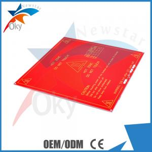 China 3D Printer Kits , RepRap Mendel PCB Heated Mk2 For Mendel 3d Printer Hot Bed on sale
