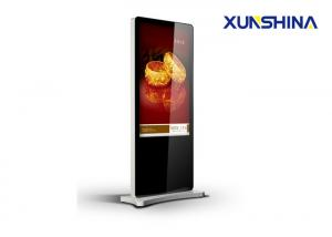 China 350nits Brightness 43 inch Touch Screen Digital Signage Kiosk with Free Software on sale