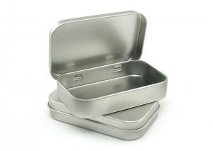 China small hinged pill tin boxes on sale