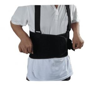 China Industrial Work Back Brace , Removable Suspender Straps for Heavy Lifting Safety on sale