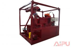 China Efficient drilling mud recycling system for HDD project at Aipu solids control on sale