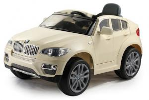 China Licensed Cars BMW X6 Kids Electric Car With Remote Control, Baby Present Ride On Toy Cars, With Music on sale