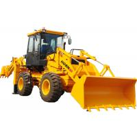 China Yellow Color Mini Backhoe Loader WZ30-25 Compact Tractor Front End Loader on sale