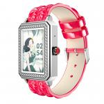 Silica Gel 170mAh 1.65 Inch Sports Fitness Bracelet With Password