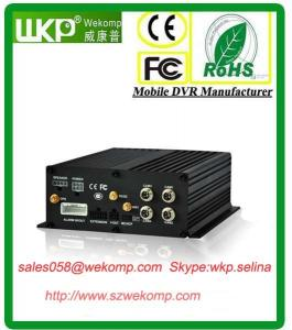 China Super Anti-vibration 4CH HDD  H.264 Mobile DVR Recorder  with Mobile Phone Viewing on sale