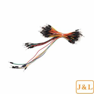 China 65 Pcs Solderless Breadboard Jumper Wires Cable Kit for Arduino AVR prototyping on sale