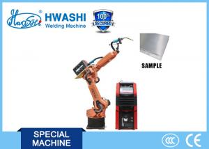China Aluminium Automatic Mig Welding Robot HWASHI HS-RAW06 on sale