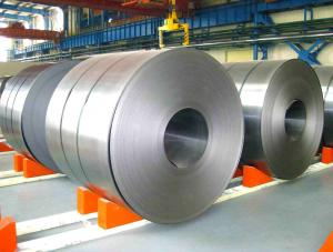 China Cold Rolled Galvanized Steel Coil With ASTM Standard , CS Type C Grade on sale