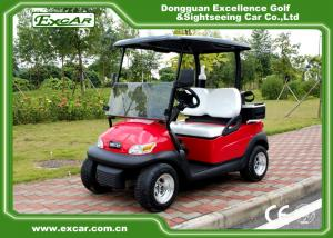 China EXCAR Electric Golf Car 2 Person 48V Trojan Battery / Curtis Controller on sale