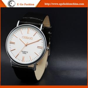 China 026A2 Fashion Jewelry Watch Wholesale Retail Cow Leather Watches Original Quartz Watch New on sale