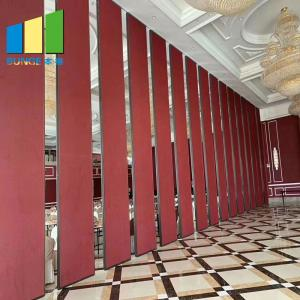 China Ballroom Acoustic Movable Partitions Soundproof Folding Partition Walls For Restaurant In Thailand on sale