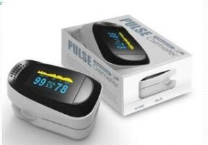 China 1.5V 30mA 240bpm OLED Display Finger Pulse Oximeter on sale